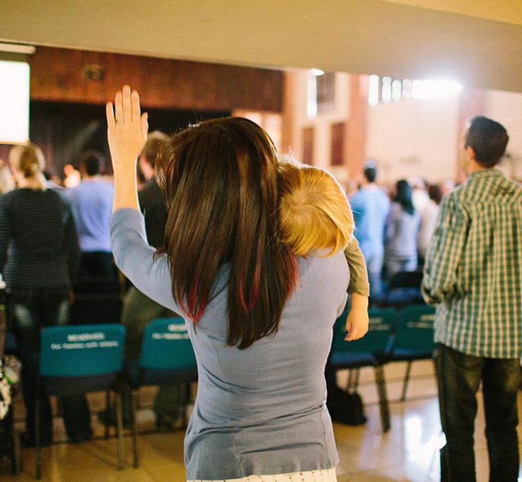 Church worship